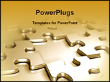 PowerPoint Template - aces puzzle image