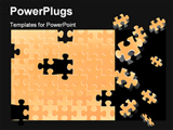 PowerPoint Template - Puzzle (editable vector or XXL jpeg image)