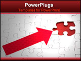 PowerPoint Template - Puzzle with missing piece � solving problems with incomplete information