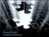 PowerPoint Template - The last puzzle piece.