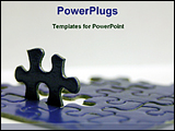 PowerPoint Template - image of puzzles