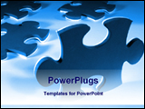 PowerPoint Template - pieces of puzzles