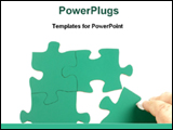 PowerPoint Template - solving a puzzle series