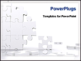 PowerPoint Template - puzzles in different places