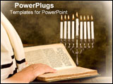 PowerPoint Template - Reading the torah.