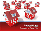 PowerPoint Template - The real estate crisis .