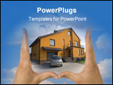 PowerPoint Template - estate real house sales home new success