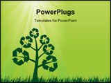 PowerPoint Template - Recycling background. Many more ecology images in my portfolio.