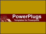 PowerPoint Template - Burgundy close-up of the New American Bible