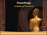 PowerPoint Template - image of lord Buddha