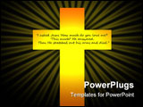 PowerPoint Template - A symbol of God
