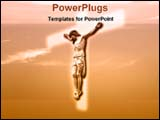 PowerPoint Template - Jesus in cross