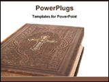 PowerPoint Template - cover page of holly bible