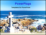 PowerPoint Template - I graves beside sea