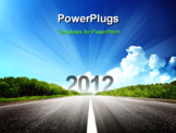 PowerPoint Template - Road to future