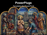 PowerPoint Template - Saint Vitus, patron saint of actors, comedians, dancers, and epileptics