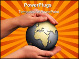 PowerPoint Template - save the world and the future of our kids