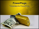 PowerPoint Template - lock your rate, save your money, cut your expenses