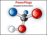PowerPoint Template - structure of molecules