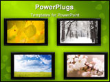 PowerPoint Template - special toned made from my images textures and photos