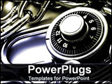 PowerPoint Template - Padlock