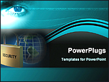 PowerPoint Template - image represents global security