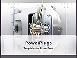 PowerPoint Template - image of bank vault