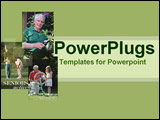 PowerPoint Template - A delightful fresh montage of life possibilities of after retirement