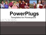 PowerPoint Template - More of the joys of family and pleasure after retirement