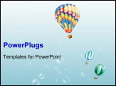 PowerPoint Template - Sky Balloon