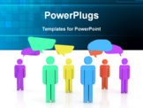 PowerPoint Template - Social networking