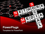 PowerPoint Template - Social Media Network