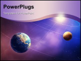 PowerPoint Template - Inner four solar system planets