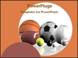 PowerPoint Template - balls of different games