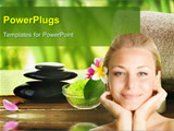 PowerPoint Template - Spa treatment