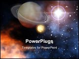 PowerPoint Template - A outerspace scene