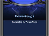 PowerPoint Template - his template will be a good choice for presentations on science, high tech development, high tech r