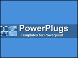 PowerPoint Template - Blue gymnastics collage: hands on rings  powdering