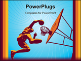 PowerPoint Template - Basketball3drms