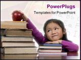 PowerPoint Template - the power of the future is your education.