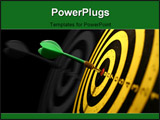 PowerPoint Template - dartboard