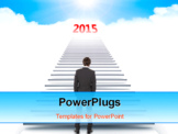 PowerPoint Template - Success in year 2015
