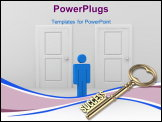 PowerPoint Template - Key to success