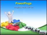 PowerPoint Template - Success metaphor