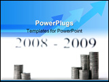 PowerPoint Template - bank deposit advantageous holdings successful investing save your money