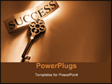 PowerPoint Template - the key to success