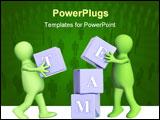 PowerPoint Template - success of teamwork