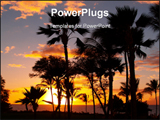 PowerPoint Template - Maui sunset.