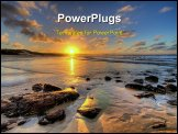 PowerPoint Template - sunset in thailand stunning image to print