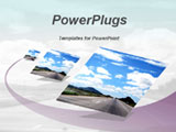 PowerPoint Template - Ideal template for presentation on business marketing,  issues, ideas and solutions, etc.